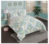Vue Blue & Yellow Skye Reversible Comforter Set