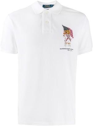 Polo Ralph Lauren custom slim-fit Bear polo shirt
