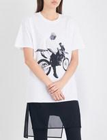 Justin Bieber Stadium Tour motorcycle cotton-jersey T-shirt