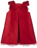 Andy & Evan Girls 2-6x Toddler's & Little Girl's Bow-On-Sleeves Dress
