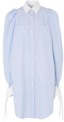 Burberry Pinstripe Shirtdress