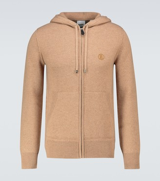 Burberry Lindley zipped cashmere sweater