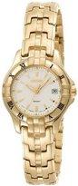 Seiko Women's SXDA30 Dress Gold-Tone Watch