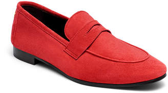 Bougeotte Flaneur Suede Penny Loafers