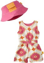 Masala Racer Yoga Romper 2 Piece Set (Baby) - Pink-3-6 Months