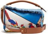 Loewe X Paula's Ibiza Puzzle patchwork bag