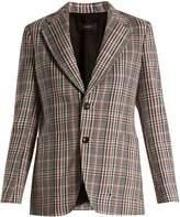 Joseph Albert Elton Prince of Wales-print blazer