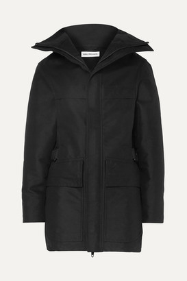 Balenciaga Canvas Parka - Black
