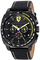 Ferrari Men's 0830165 Aero Evo Analog Display Quartz Black Watch