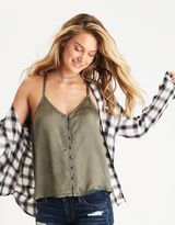 American Eagle Outfitters AE Button Cami
