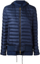 Moncler layered padded jacket - women - Feather Down/Polyamide/Feather - 0