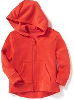 Old Navy Full-Zip Fleece Hoodie for Toddler Girls