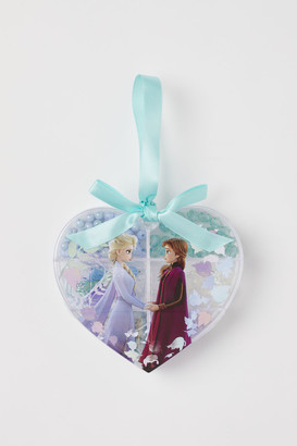 H&M Heart-shaped Bead Box - Turquoise