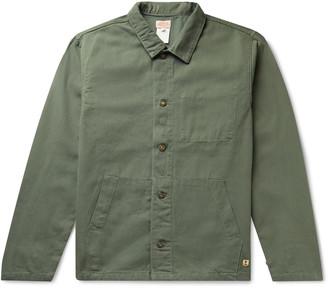 Armor Lux Cotton-Canvas Chore Jacket - Men - Green