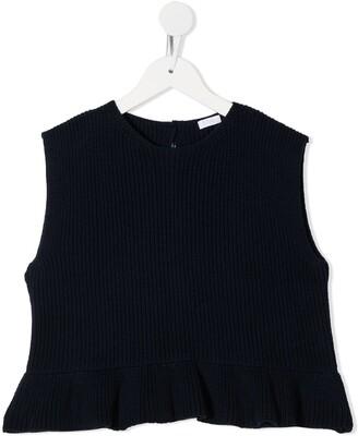 Il Gufo Chunky Knit Top