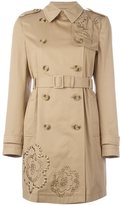 RED Valentino embroidered trench coat