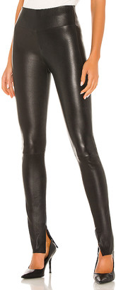 Sprwmn Ankle Legging with Inside Zip