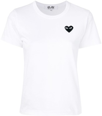 Comme des Garcons short sleeve 'Play' T-shirt