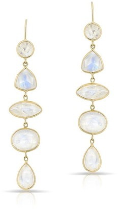 Anne Sisteron Moonstone Drop Dominique Earrings