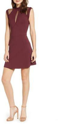 Sentimental NY Galactica Fit & Flare Dress
