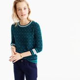 J.Crew Tippi sweater in festive Fair Isle