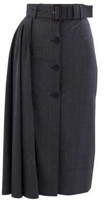 Koché Contrast stitch trousers
