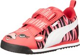 Puma Roma SL Zebra V Ki Youth US 2 Pink Sneakers