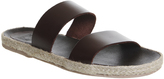Ask the Missus Fergus Two Strap Sandals