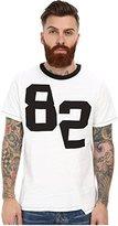 Joe's Jeans Men's Novak Players Distorted Tee White T-Shirt