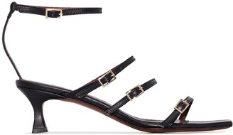 MANU Atelier Naomi 50 strappy leather sandals