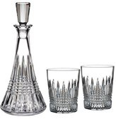 Waterford 'Lismore Diamond' Lead Crystal Decanter & Double Old-Fashioned Glasses