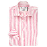 Thomas Pink Cornell Stripe Slim Fit Button Cuff Shirt