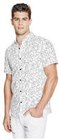 G by Guess GByGUESS Men's Retner Printed Shirt