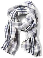 Banana Republic Plaid Rectangular Scarf