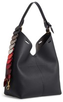 Anya Hindmarch Small Leather Bucket Bag - Black