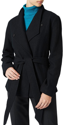 David Lawrence Lea Felted Wool Jacket