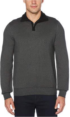 Perry Ellis Men Quarter-Zip Sweater