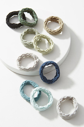 Anthropologie Zia Ponytail Holder Set By in Blue