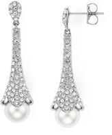 Nadri Floral Drop Earrings