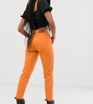 Reclaimed Vintage The '89 tapered jean in orange wash