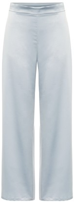 Max Mara Leisure Enfasi high-rise satin pants