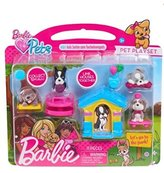 Mattel Barbie Great Puppy Adventure with Pink/White Dog House