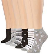 MIXIT Mixit 6 Pair Low Cut Socks