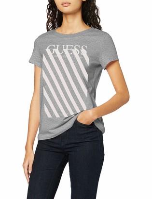 GUESS Women's Ss Rn Creamy Tee T-Shirt