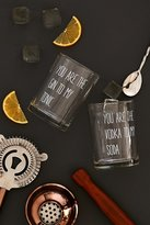 Urban Outfitters You Are The Rocks Cocktail Glasses Set