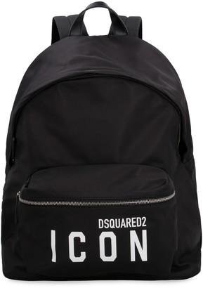DSQUARED2 Logo Detail Nylon Backpack