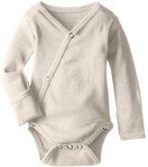 L'ovedbaby Unisex-Baby Organic Cotton Kimono Long Sleeve Bodysuit