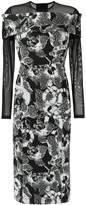 Tufi Duek floral midi dress