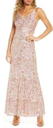 Morgan & Co. Sequin Gown