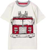 Gymboree Fire Truck Tee